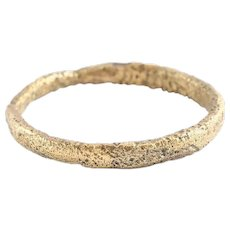 Ancient Viking Wedding Ring C.850-1050 AD Jewelry Size 4 1/4