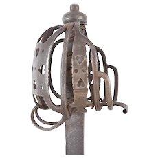 Scottish Basket Hilted Back Sword