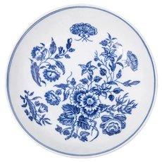 English Export Porcelain Tea Bowl and Under Bowl