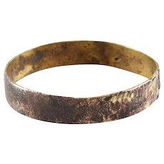 Viking Mans Wedding Ring 9th- 10th Century Jewelry Size 9 1/4