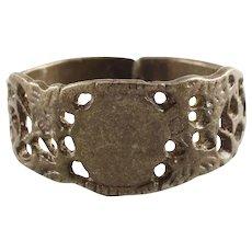 Eastern European Man's Wedding Ring Size 13