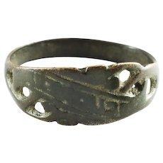 Eastern European Woman's Wedding Ring Size 8 ½
