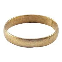 Ancient Viking Man's Wedding Ring C.850-1050 AD Size 10
