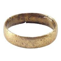 Ancient Viking Woman's Wedding Ring C.850-1050 AD Size 7 ¼