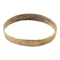 Ancient Viking Man's Wedding Ring C.850-1050 AD Size 11 ¾