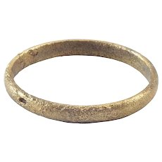 Ancient Viking Wedding Ring C.850-1050 AD Jewelry Size 9