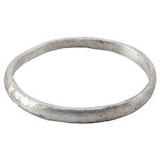 Ancient Viking Man's Wedding Ring C.850-1050 AD Size 10 ½