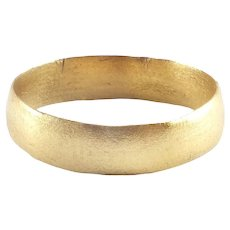 Ancient Viking Man's Wedding Ring C.850-1050 AD Size 11 ½