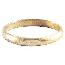 Ancient Viking Wedding Ring C.850-1050 AD Jewelry Size 8
