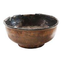 Tibetan Silver Lined Libation Bowl 16th- 18th Century