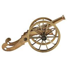 Victorian Brass Cannon
