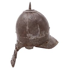 Polish Cavalry Helmet, Zischagge, Late 17th Century