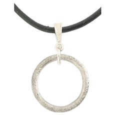 Ancient Celtic Prosperity Ring Necklace C.400- 100 BC Jewelry