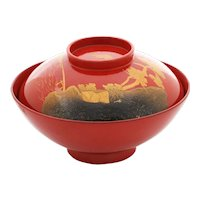 Fine Japanese Lacquered Bowl