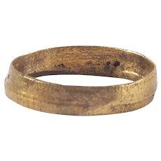 Ancient Viking Woman's Wedding Ring C.850-1050 AD Size 2 ½