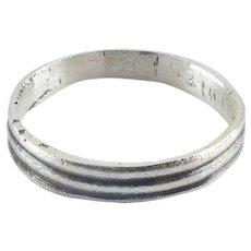 Ancient Viking Man's Wedding Ring C.850-1050 AD Size 10 ¼