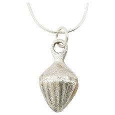 Ancient Roman Shell Pendant Necklace C.100-400 AD
