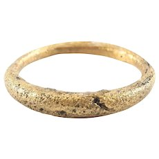 Ancient Viking Warriors Wedding Ring C. 866- 1067 AD Jewelry Size 10 1/4