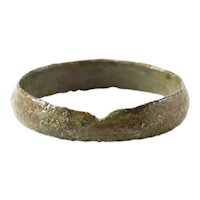 Fine Viking Wedding Ring, 9th-11th Century AD, Size 9 ½
