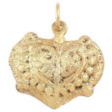 Viking Heart Pendant 900-1050 AD