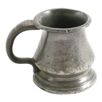Charming Victorian Pewter Mug