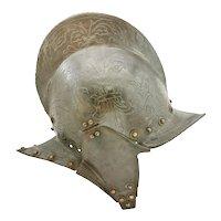 A Rare North Italian Burgonet C. 1570-80