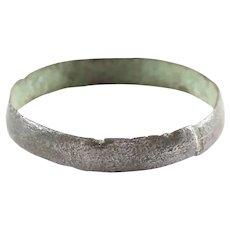 Ancient Viking Wedding Ring C.850-1050 AD Size 8