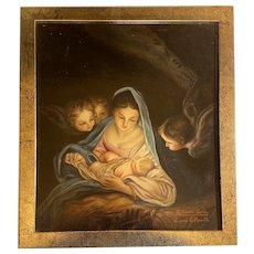 Carlo Maratti (1625 –1713), after. The Holy Night. XX century.