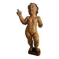 17th century Baroque Wooden carved sculpture
