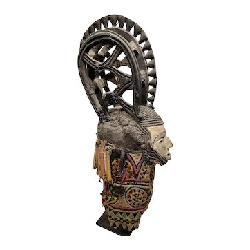 Ibo (or Igbo) Mask, Nigeria