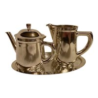 Coffee Set, Silver Plated XXth century