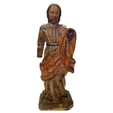 Saint Joseph. Wooden carved sculpture. XVIII century