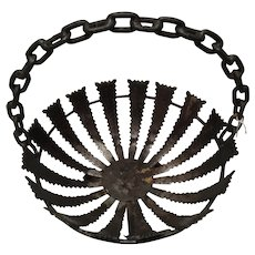 Iron fruit basket from the 50`s