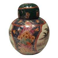 Large porcelain Chinese jar (Tibor) 20th century