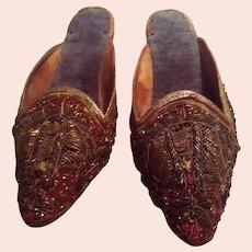 XVIII century Venetian shoes
