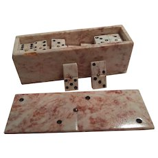 Marble set of dominoes,  End of 20th century
