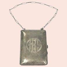 Early Art Deco Sterling Silver Dance Purse