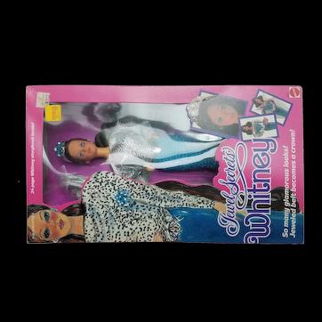 Vintage NIB 1986 Jewel Secrets Whitney Doll Barbie Friend by Mattel #3179