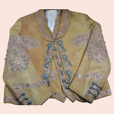 a fine Mexican Charro jacket and vest - early 1950's.