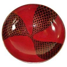 Miguel Pineda Mexican enamel small bowl