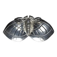 William Spratling Mexican Silver Butterfly brooch Taxco 1940s