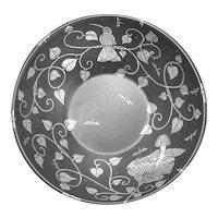 Emilia Castillo ceramic bowl with sterling silver overlay