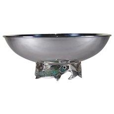 """Los Castillo Taxco centre piece bowl 10"""""""