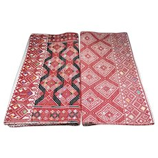 two vintage cushion covers from Chiapas