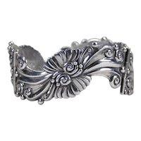 Margot de Taxco vintage Mexican Sterling Silver bracelet