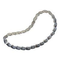 Hector Aguilar 940 Taxco Mexican sterling silver necklace