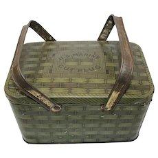 Vintage U S Marine Plug Tobacco Tin