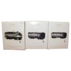 Hallmark Train Ornaments