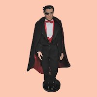 """Tonner 17"""" Male Doll, Matt O'Neill collection, Tux and Cape"""