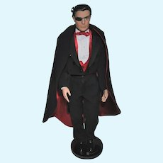 "Tonner 17"" Male Doll, Matt O'Neill collection, Tux and Cape"